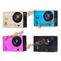 X1 Автомобильный видеорегистратор камера 2.0-дюймов ЖК-Wi-Fi спорт DV 120° широкоугольный объектив