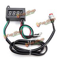 Мотоцикл постоянного регулируемое время электронная панель метр 0.4inch LED Часы
