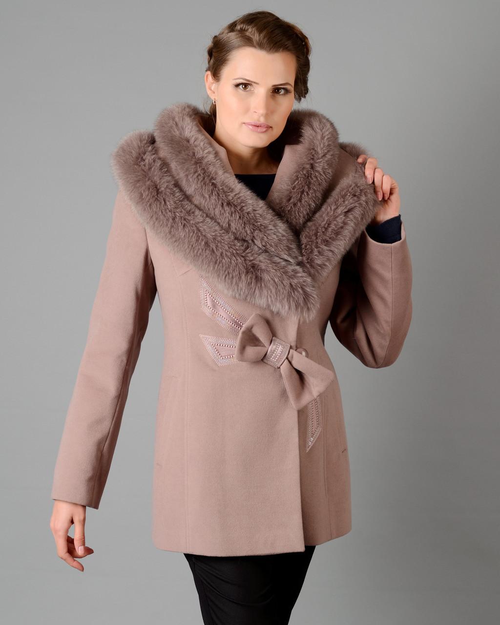Зимнее пальто Бант