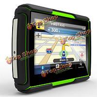 4.3-дюйма сенсорный экран водонепроницаемый мотоцикл навигации GPS навигации 8Гб