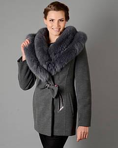 Женское зимнее пальто Бант