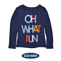 Лонгслив Old Navy Fun (син) 110