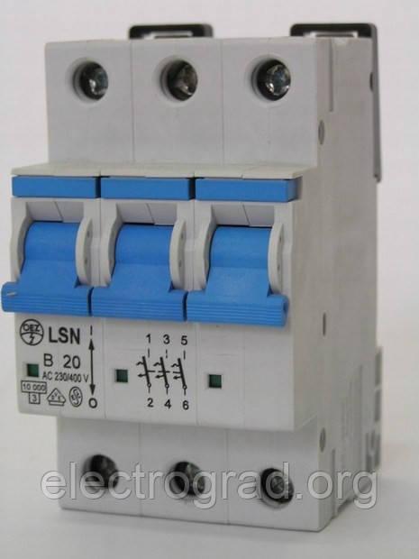 Авт.выкл. LSN 50C/3