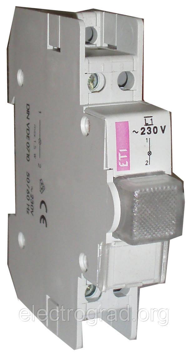 Лампа сигнальная L1 (без колпачка)