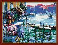 Раскраска по цифрам Утро в Венеции (KH227) 40 х 50 см