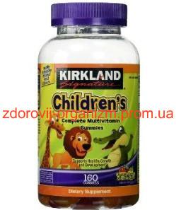 Мультивитамины для детей Kirkland