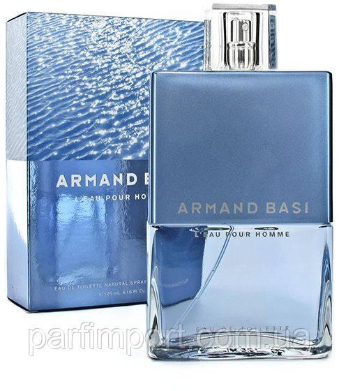 Armand Basi l'eau Pour Homme EDT 125 ml туалетна вода чоловіча (оригінал оригінал Іспанія)