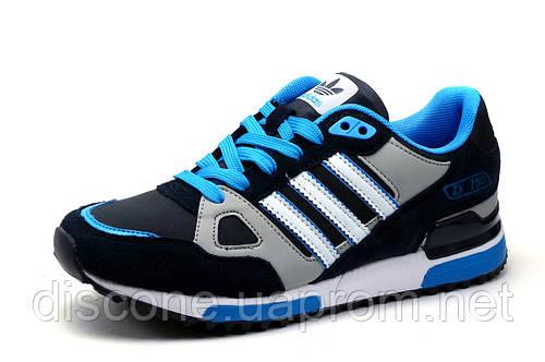 Кроссовки Adidas ZX750, унисекс, темно-синие