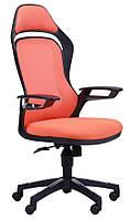 Кресло Spider GTX сетка оранжевая/каркас черный