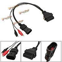 16pin OBD2 для 3pin OBD1 диагностического обнаружения кабеля адаптера для Фиат Alpha Romeo
