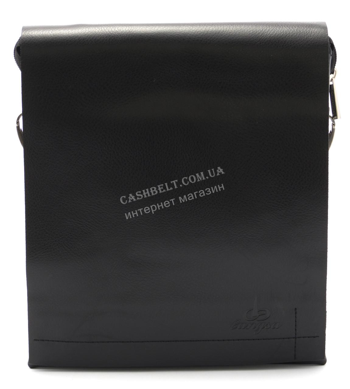 Зручна чоловіча сумка Langsa art. 9887-3 чорний
