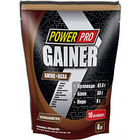 Гейнер Power Pro 4 кг Бразильский орех