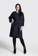 Пальто женское утепленное Д 77 синее