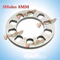 Тироль универсального колесного разделительные 5holes толщиной 8 мм алюминиевые диски адаптер для 5lug