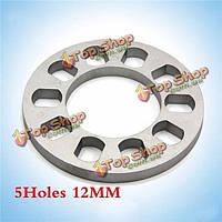 Тироль универсального колесного разделительные 5holes толщиной 12 мм алюминиевые колеса адаптер для 5lug