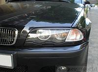 Реснички бровки BMW E46 дорестайл