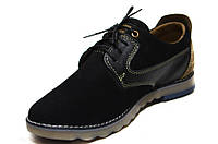 Мужские туфли (арт.Бони чер. нуб.), фото 1