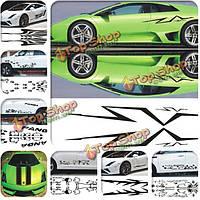 Персонализированные DIY двери автомобиля наклейки украшения разных форм