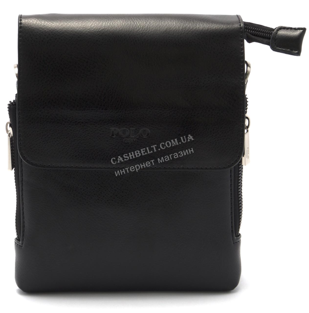 Зручна чоловіча сумка POLO art. 8868-1 чорний