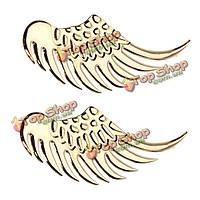 3D сплава металла ястреб крылья ангела дизайн автомобиля значка эмблемы decal наклейка