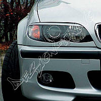 Реснички бровки тюнинг BMW E46 рестайл