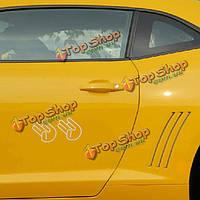 Шокером виниловые наклейки окна автомобиля наклейка для JDM Хонда тюнер