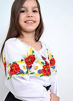 Вышиванка - блуза детская  4450 (Л.Л.Л.)