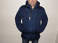 Куртка мужская, длинная, зимняя GOOCEC.