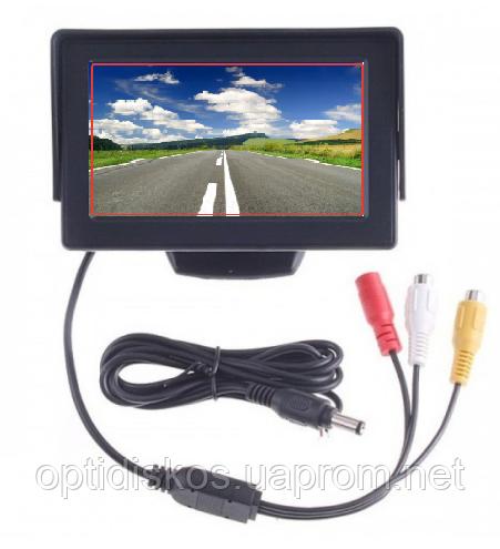 Монитор дисплей LCD 4.3'' для двух камер заднего вида