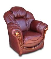 """Новое кожаное кресло """"Мальта"""" (100 см)"""