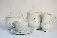 Rococo 9706 Чайный сервиз на 12 персон 27 предметов фарфор Cmielow