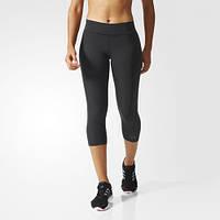 Укороченные леггинсы adidas Workout Three-Quarter Tight Black AI3740
