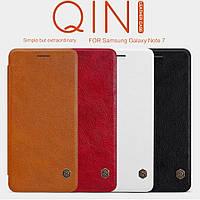 Кожаный чехол Nillkin Qin для Samsung Galaxy Note 7 (4 цвета)