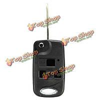 3 Кнопка складывания дистанционный брелок для ключей чехол toy47 лезвие для Toyota Avensis Yaris