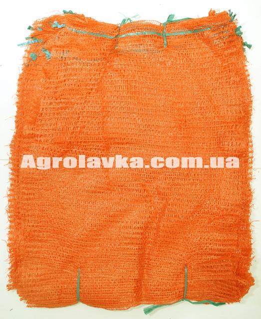 Сетка овощная оранжевая