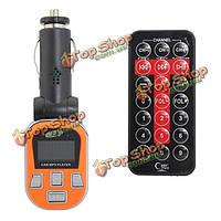 Автомобильный MP3 плеер FM передатчик ЖК-дисплей с пульта дистанционного управления