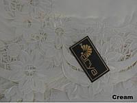 Скатерть на круглый стол 160хQ KAYAOGLU Sun кремовая