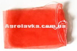 Овощная сетка с мелкой ячейкой красная (капрон)