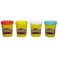 Play-Doh Набор из 4 цветов Дино 4 Pack of Colors Dino