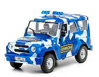"""Инерционная машина """"Внедорожник 3151: Омон"""", Joy Toy"""