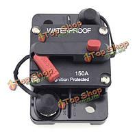 150А автомобиль лодка с.в. зажигания защищен выключатель ручного сброса автоматический выключатель держатель сбрасываемый предохранитель&