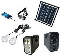 Автономная система освещения с солнечной батареей GD-lite, GD-8037