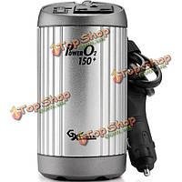 К-150 инвертор силы автомобиля 150w 220v переменного тока зарядки 2.1A USB зарядка очистки воздуха 3 в 1