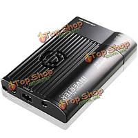T163 аниона инвертор силы автомобиля AC 220В ультратонкий USB 2.1a зарядки очиститель воздуха 3в1