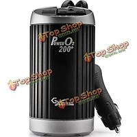 К-200 автомобилей автомобиля anoin инвертор переменного тока 220v USB очистки воздуха 2.1a зарядное устройство 3 в 1