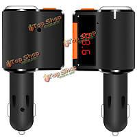 Bc09 автомобиль Аудио MP3 плеер Dual USB зарядное устройство FM-передатчик модулятор с беспроводной функцией Bluetooth