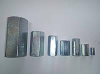 Гайка  удлинитель DIN 6334 м 6 х 18 (шт.)