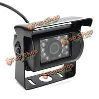 120° широкоформатных ночь камера заднего вида водонепроницаемый + видео кабель 10м IR автобус грузовой автомобиль