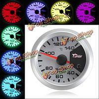 7 цветов 52мм автомобиля LED термометр измеритель температуры воды датчик