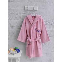 Халат махровый детский Marie Сlaire Chats розовый на 7-8 лет